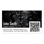 Ornament QR Code Equine Dentist Business Card