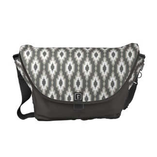 Ornament Rhombic lattice - Rickshaw Messenger Bag