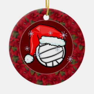 Ornament -Santa Volleyball