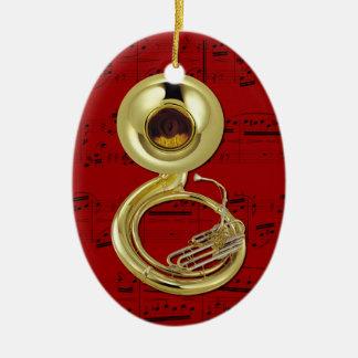 Ornament - Sousaphone (Tuba) - Pick your color