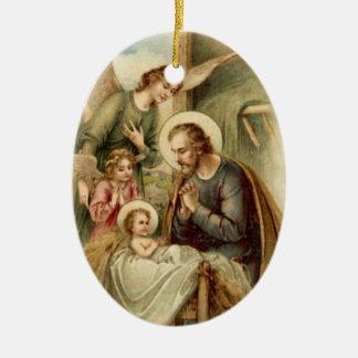 Ornament: St. Joseph Nativity Christmas Ornament