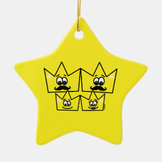 Ornament Star - Gay Family Men