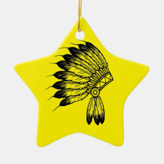 Ornament Star Indian style