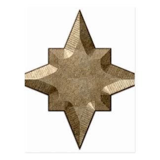 Ornament-star-symbol Postcard