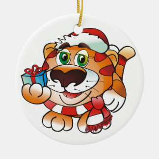 Ornament: Tiger Christmas Ornament
