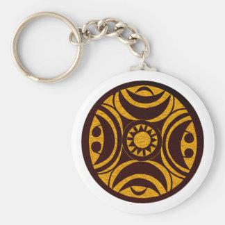 Ornament tribal Afrika Africa Schlüsselanhänger