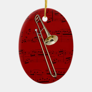 Ornament - Trombone (tenor) - Pick your color