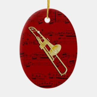 Ornament - Trombone (valve) - Pick your colour