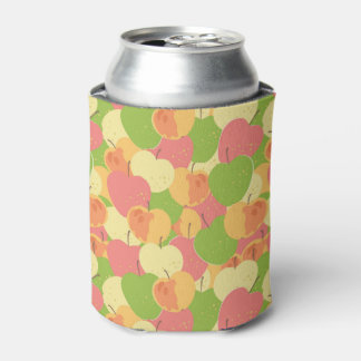 Ornament With Apples Can Cooler