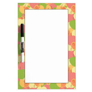 Ornament With Apples Dry Erase Board