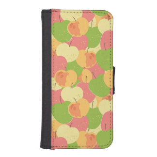 Ornament With Apples iPhone SE/5/5s Wallet Case