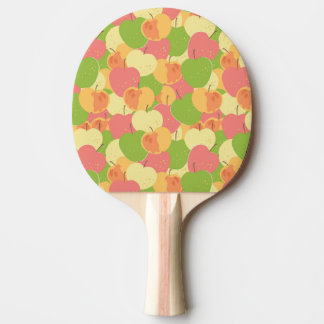 Ornament With Apples Ping Pong Paddle
