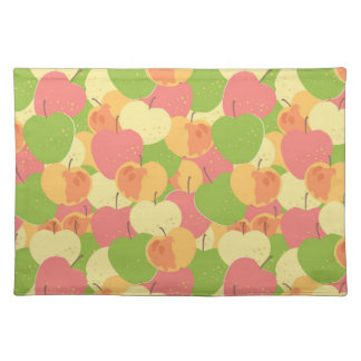 Ornament With Apples Placemat