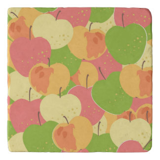 Ornament With Apples Trivet