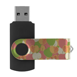 Ornament With Apples USB Flash Drive