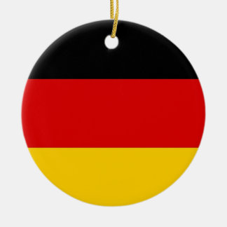 Ornament with flag of Germany