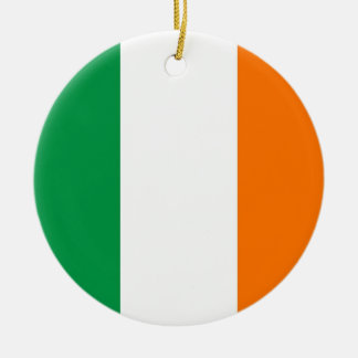 Ornament with flag of Ireland