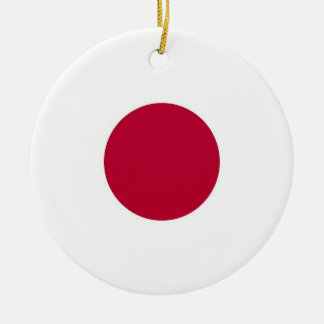 Ornament with flag of Japan