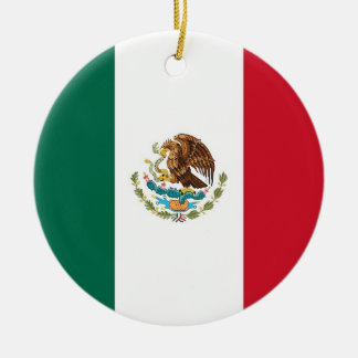 Ornament with flag of Mexico
