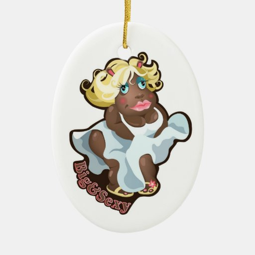 Ornament with funny hippo character.