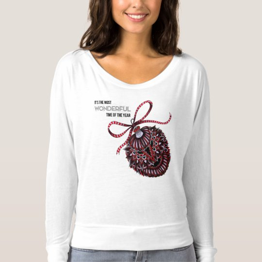 Ornament with Text T-Shirt