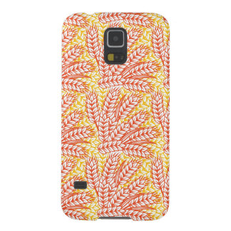 Ornament with wheat ears galaxy s5 cases