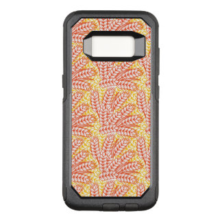 Ornament with wheat ears OtterBox commuter samsung galaxy s8 case