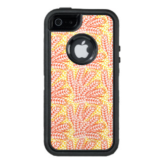 Ornament with wheat ears OtterBox iPhone 5/5s/SE case