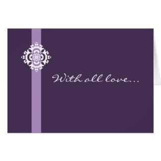 Ornamenta greeting card - customizable