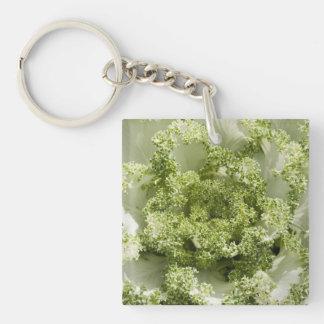 Ornamental Cabbage Acrylic Key Chains