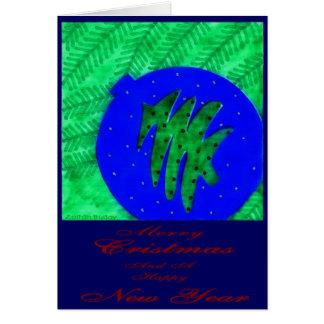 """""""Ornamental"""" Christmas Card by Zoltan Buday"""