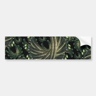 Ornamental Fancy Pattern Bumper Sticker