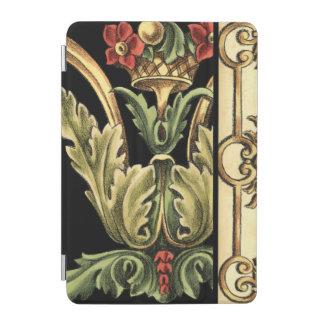 Ornamental Floral Design with Black Borders iPad Mini Cover