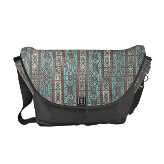 Ornamental interlacement - Rickshaw Messenger Bag