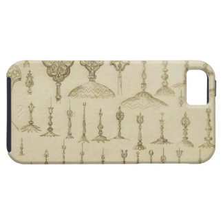 Ornamental knobs shaped as domes and minarets, fro iPhone 5 covers