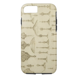 Ornamental knobs shaped as domes and minarets, fro iPhone 8/7 case
