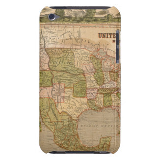 Ornamental Map of The United States and Mexico iPod Touch Case