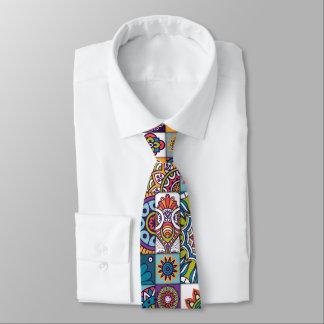 Ornamental Mosaic Background Tie