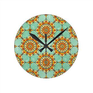 Ornamental pattern clocks