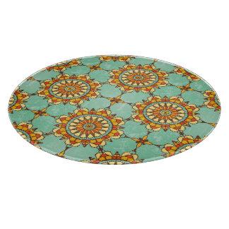Ornamental pattern cutting board