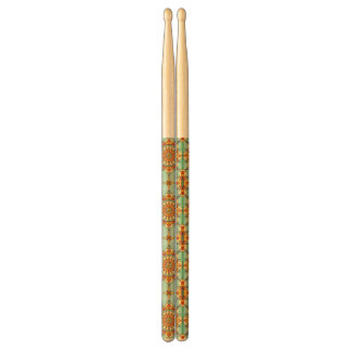 Ornamental pattern drumsticks