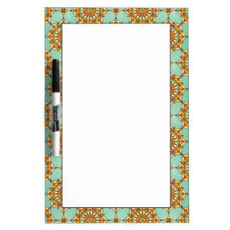 Ornamental pattern Dry-Erase board