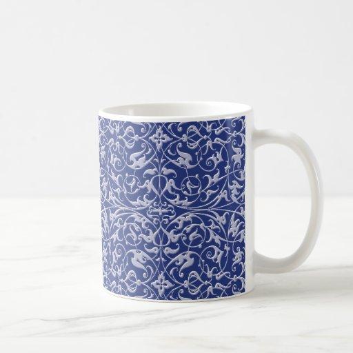 Ornamental Pattern Mugs