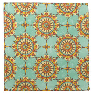 Ornamental pattern napkin