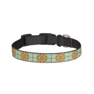 Ornamental pattern pet collar