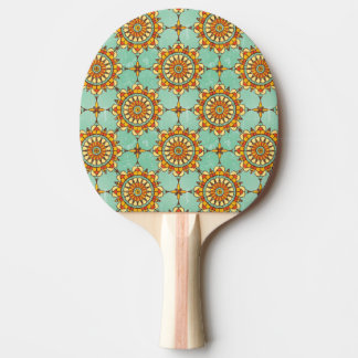 Ornamental pattern ping pong paddle