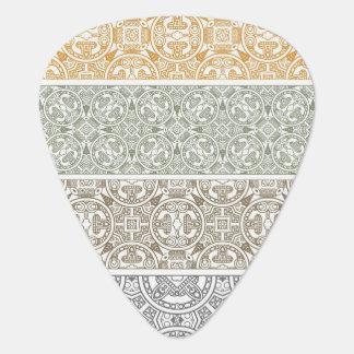 Ornamental pattern plectrum