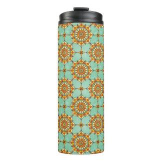Ornamental pattern thermal tumbler