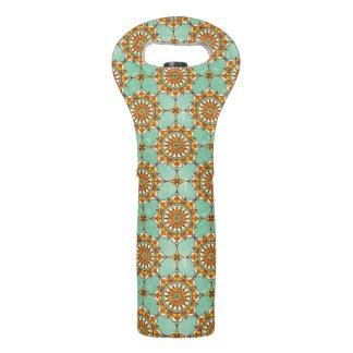 Ornamental pattern wine bag