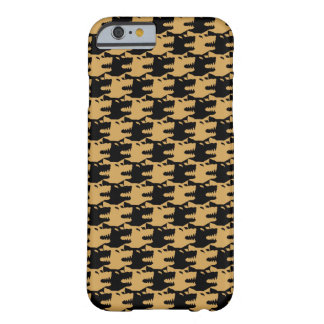 ornamental pattern wolf indomitable barely there iPhone 6 case